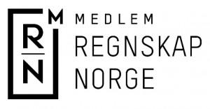 Regnskap Norge logo screen